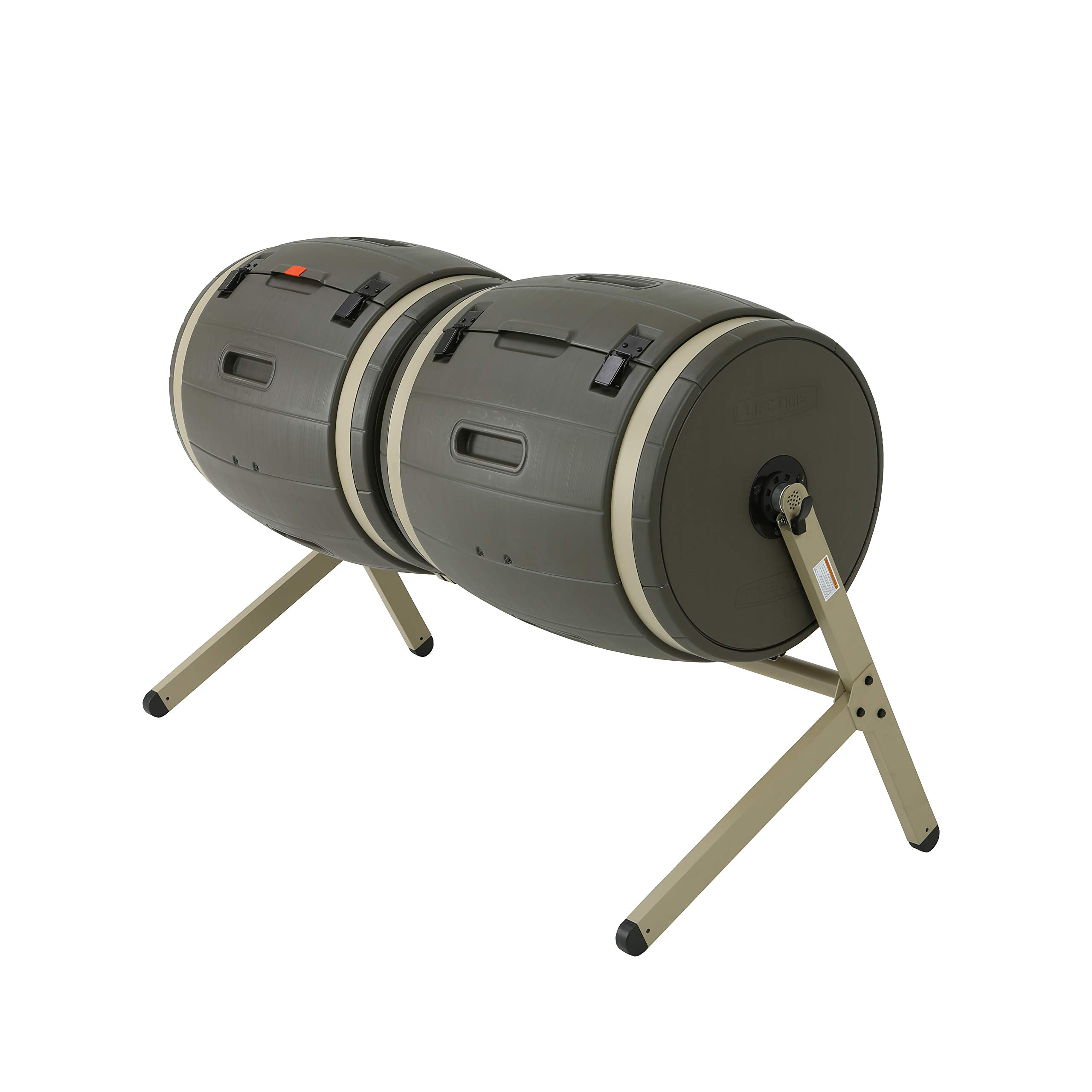 Lifetime 60309 Double Rotating Composter