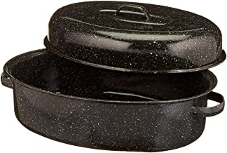 product image for Granite Ware 18-Inch Covered Oval Roaster