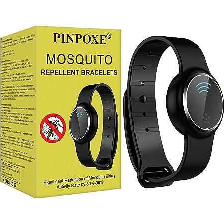 LWAN3 Bracelet anti-moustiques /à ultrasons rechargeable pour camping en plein air