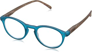 Peepers Style Eleven 684225 Round Readers, Teal, 2.25