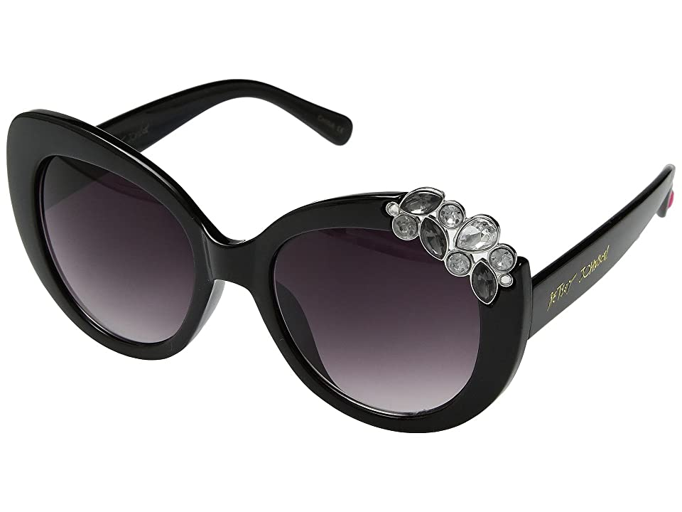 Betsey Johnson BJ889102 (Black) Fashion Sunglasses