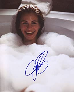 Julia Roberts Autograph Signed 8 x 10 Photo