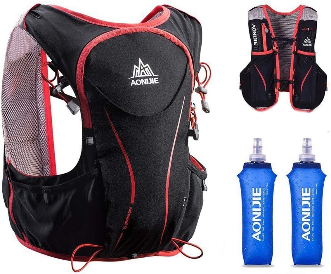 直送商品 ブランド激安セール会場 AONIJIE Hydration Pack Backpack Deluxe 5L H Outdoors Lightweight
