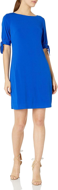 Jessica Howard Women's Tie Sleeve Shift Dress