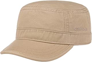 Stetson Gosper Army Urban Cap Mujer/Hombre - Gorra Militar de algodón - Gorra Militar con protección UV - Gorra Verano e I...