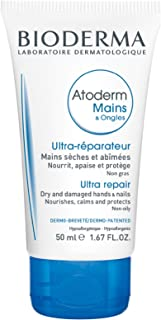 Bioderma Atoderm Hands & Nail Ultra Repairing Soothing Cream for Normal to Dry skin, 50ml