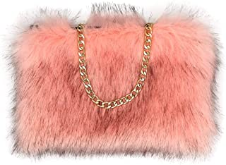 Best pink fur handbag Reviews