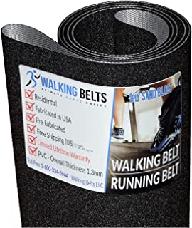 WALKINGBELTS Walking Belts LLC - Horizon T92 TM607 (2009) Treadmill Running Belt 1ply Sand Blast + Free 1oz Lube