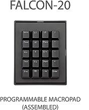 Max Keyboard Falcon-20 Programmable Macropad Mechanical Keyboard, Backlit Multicolor LED, Cherry MX RGB Switch (Cherry MX RGB Blue)