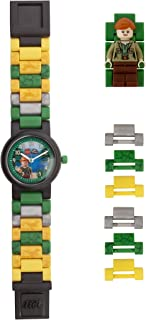 Lego Watches and Clocks Girl's 'Jurassic World Claire' Quartz Plastic Watch