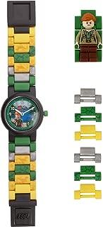 Lego Watches and Clocks Girl's 'Jurassic World Claire' Quartz Plastic Watch