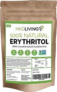 Eritritol 100 % natural 2 kg | Granulado sustituto del azú