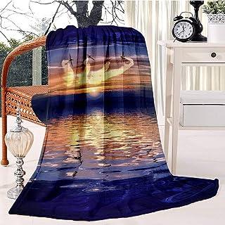 The Blades 6 Bed Blanket Plush Velvet Soft Warm Blanket Lightweight Microfiber Cozy Blanket Christmas Blanket for Bed Couc...