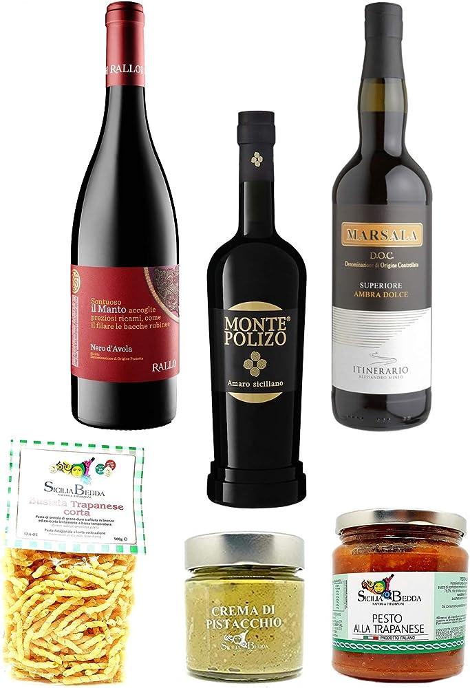 Sicilia bedda, idea regalo per pasqua, prodotti tipici siciliani p1968
