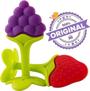 Best için lüks diş oyuncak bebek diş kaşıyıcı masaj by nurtureland. tahriş olmuş Molar dişlerini Advanced yumuşak doğal diş kaşıyıcı BPA içermez ağaç hediye seti. machen Sie Happy Baby Smile Now.