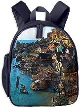 Kids School Backpack for Boys Girls, Perfect Fit Elementary School Teenage Junior Middle School Bookbag Student Stylish Travel Laptop Book Bag Anchor Bay Malta