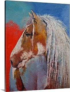 Gypsy Vanner - Horse Portrait Canvas Wall Art Print, 16