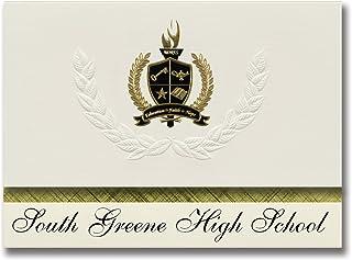 Signature Announcements South Greene High School (Greeneville, TN) Graduation Announcements, Presidential style, Elite pac...
