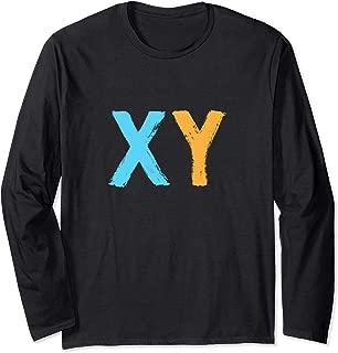 DNA Molecule XY Male Chromosome Biotechnology Long Sleeve T-Shirt