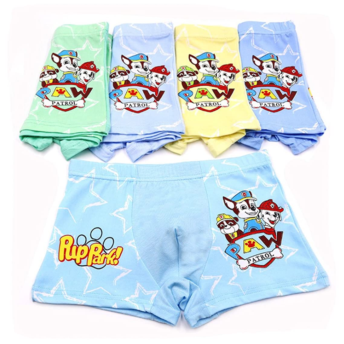 2-10 Years Boy's Character Underwear Paw Patrol Boxer Briefs 5 Multipack
