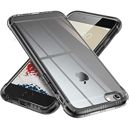 ONES 半透明 iPhone 6sPlus 6Plus ケース 耐衝撃 超軍用規格 『エアバッグ、半密閉音室』〔滑り止め、すり傷防止、柔軟〕〔美しい、光沢感、軽·薄〕 衝撃吸収 HQ·TPU 高級感 カバー