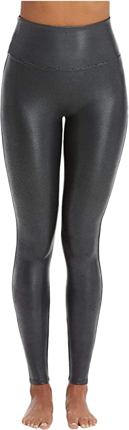 2502cc149e9 Pebble Grey. 184. Spanx. Faux Leather Pebbled Leggings