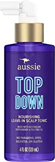 Aussie Top Down Nourishing Leave-In Scalp Tonic, Infused with Australian Pepperberry and Tea Tree Oil, Para...
