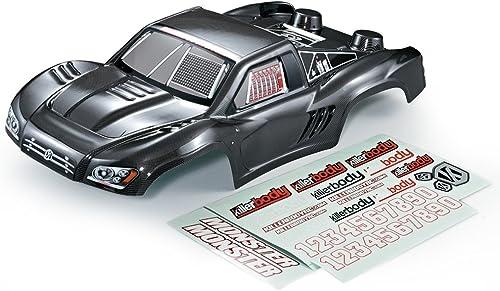 Festnight KillerBody 48036 327mm Camion de Course Courte Fini Corps Shell Cadre pour 1 10 Traxxas HPI AE RC Drift Racing Voiture DIY