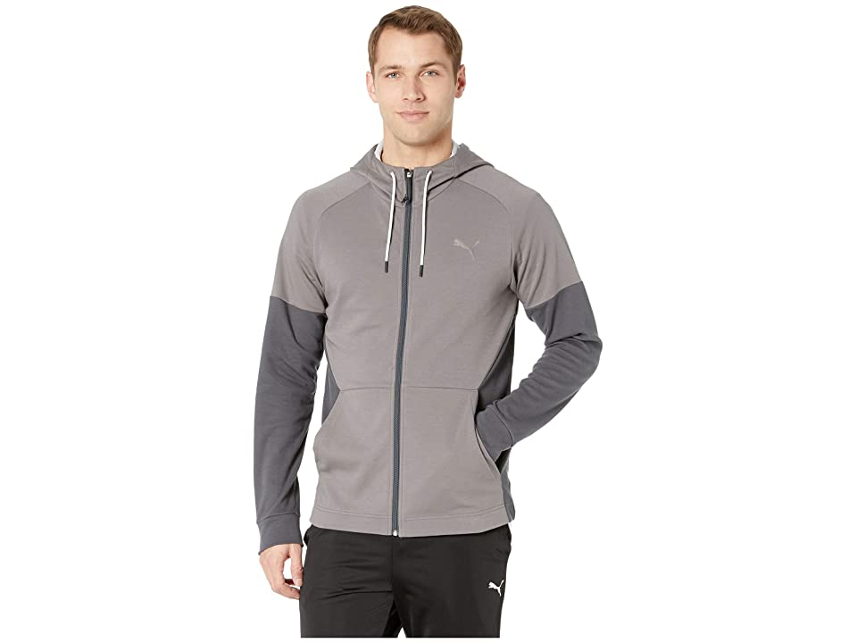 PUMA A.C.E. Fleece Jacket (Charcoal Grey) Men