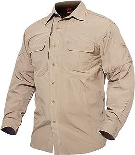 پیراهن ضد آستین بلند تنفس مردانه MAGCOMSEN برای کار سفر نظامی