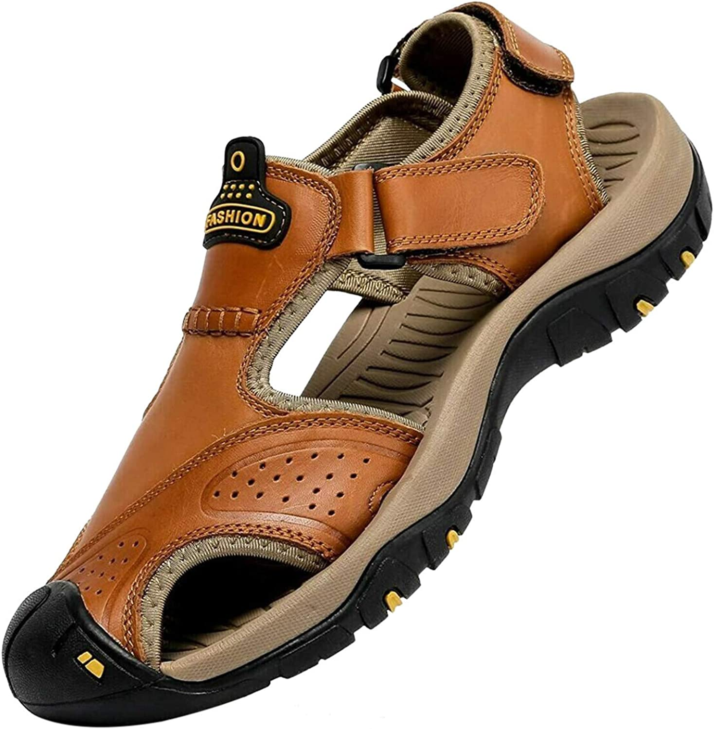 Men's Outdoor Hiking Sandals Protective Water Topcap Clos Shoes Portland Mall Ranking TOP7