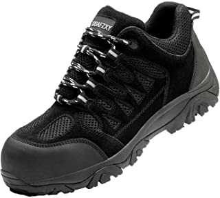Sponsored Ad - AZXPROT Work Boot for Men Comfortable Waterproof Slip Resistant Work Boots Lightweight Breathable Work Shoes