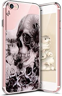 cf4a7ad9259 Surakey iPhone 7 Funda,iPhone iPhone 8 Funda, Funda Transparente Suave TPU  Gel Ultra