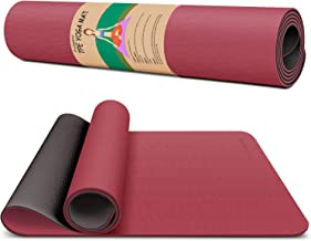 Dralegend Yoga Mat Exercise Fitness Mat - High Density Non-Slip Workout Mat for Yoga, Pilates & Exercises, Anti - Tear, Sw...