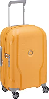 Delsey - Clavel 55cm Small 4 Wheel Hard Suitcase - Yellow