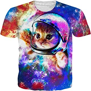 Unisex Short Sleeve 3D Digital Printed Personalized T Shirts Tees