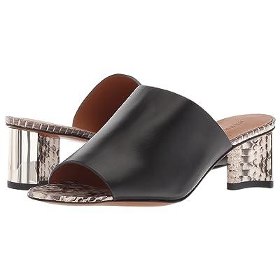 Clergerie Sergiaw (Black Leather Calf) High Heels