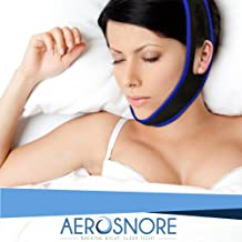 Anti Snoring Chin Strap - Premium Snore Stopper Guard for a Natural Snore Relief - Anti-Snoring Mask for Men and Women - Adjustable Stop Snoring Chin Strap Perfect Solution for a Good Night Sleep
