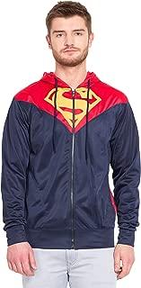 Inferno Superman Zipper-Hoodie | Mens Hoodies Hoodies for Mens | Superman Zipper Hoodie Sweatshirt Winter Cotton Multi-Coloured