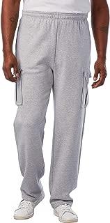 Men's Big & Tall Fleece Cargo Sweatpants