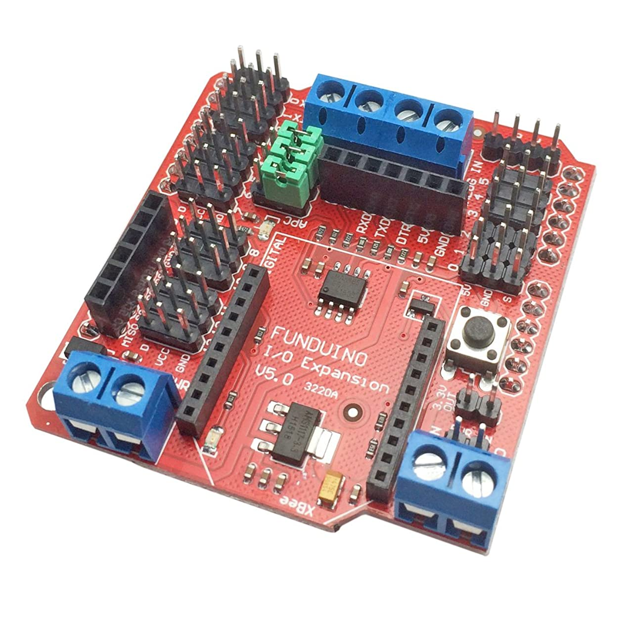 しっかり傷つける改革whataval Xbee rs485?Bluetooth i / oセンサー拡張シールドv5