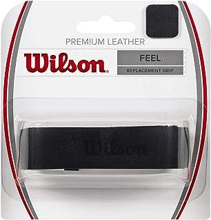 Wilson WRZ470300 Premium Leather Grip-Black
