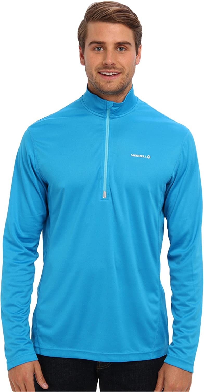 Merrell Men's Morpheous Half Medium Zip Regular store Shirt Orb Cheap super special price