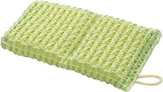 サンコー キッチンスポンジ びっくりフレッシュ 泡立ちがよい びっくりメッシュスポンジ 15×8.5cm グリーン BH-19