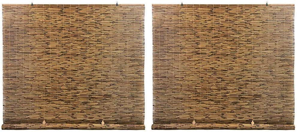 New product! New type Radiance Cord Free Roll-up Reed x Natural Excellent Shade Cocoa 72