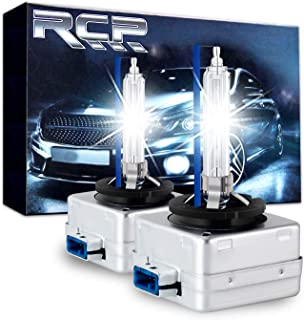 RCP D8S 8000K A Pair Xenon HID Replacement Bulb Ice Blue...