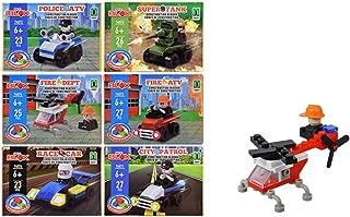 My BLOX Bundle Includes: Army Super Tank, Police ATV, Police City Patrol, Race Car, Fire Dept., and Fire ATV