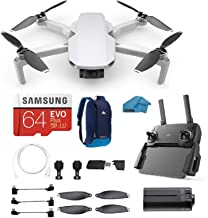$399 » DJI Mavic Mini - Drone FlyCam Quadcopter with 2.7K Camera 3-Axis Gimbal with 64GB Micro SD Card, Reader, Backpack, Must Have Bundle