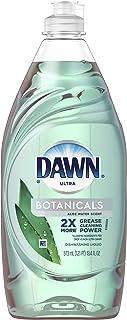 Dawn Botanicals Aloe Water Scent Dishwashing Liquid,19.4oz