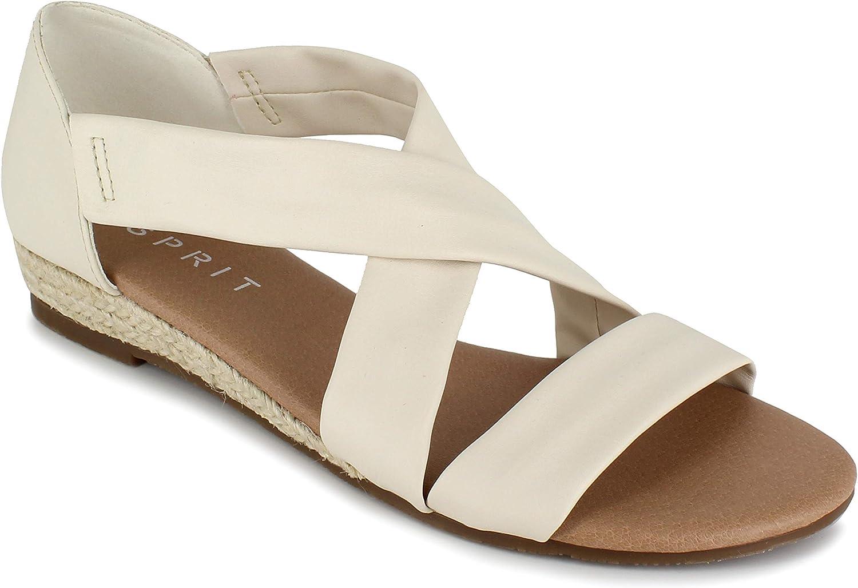 free shipping Esprit Women's Cassie Sandal Flat Max 44% OFF